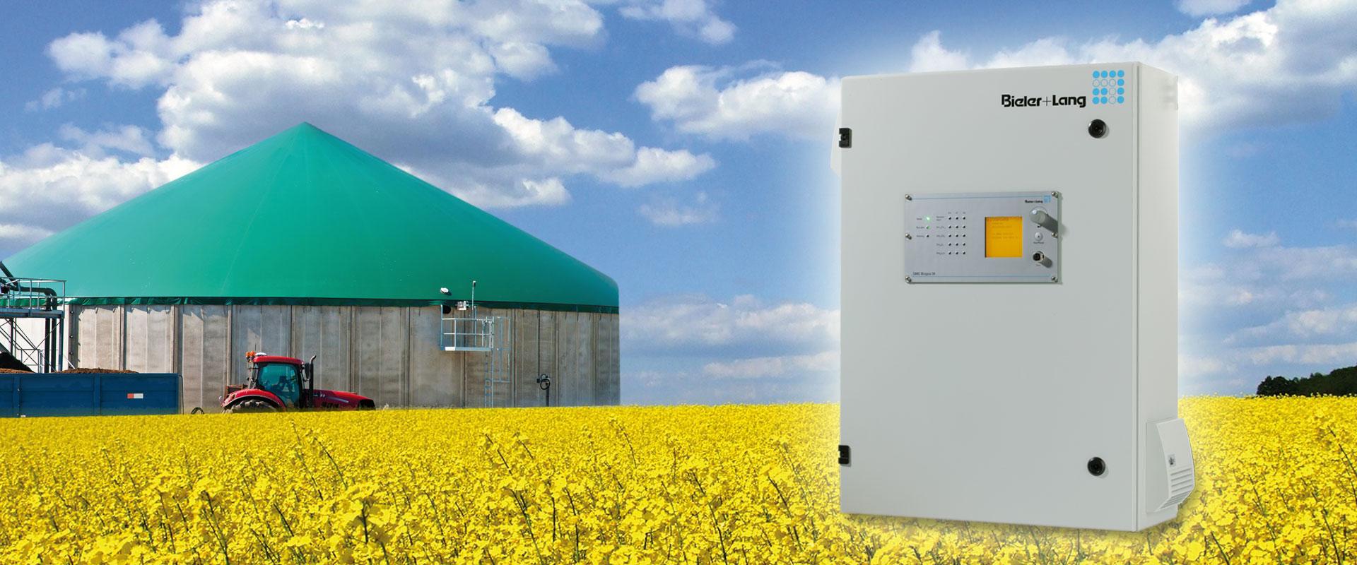 Bieler+Lang: Biogas Analysegerät GMC Biogas 08